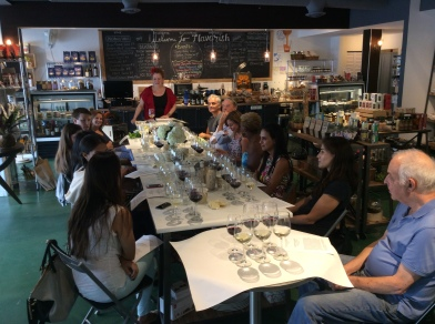 wine class photo